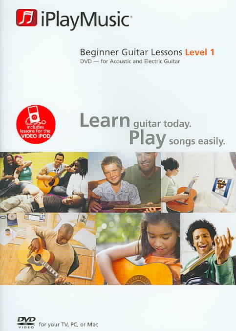 BEGINNER GUITAR LESSONS:LEVEL 1 (DVD)